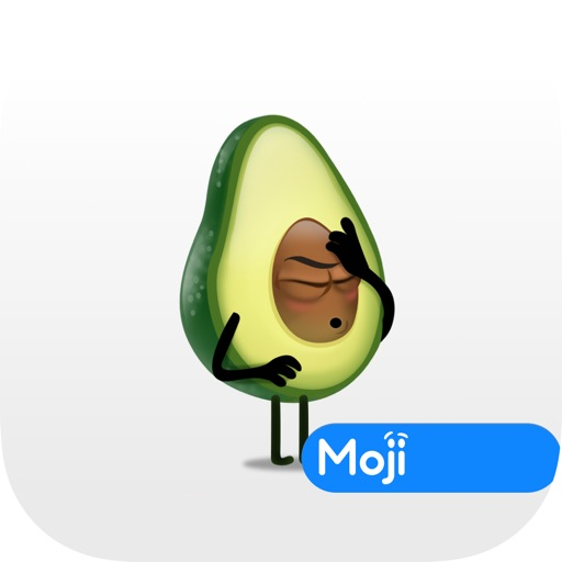 Avocad'oh by Moji icon