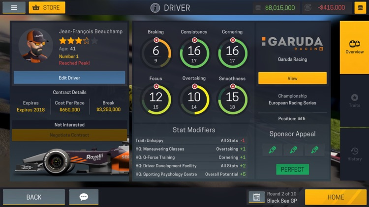 Motorsport Manager Mobile 2 screenshot-4