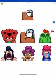 Brawl Stars Animated Emojis ipad images