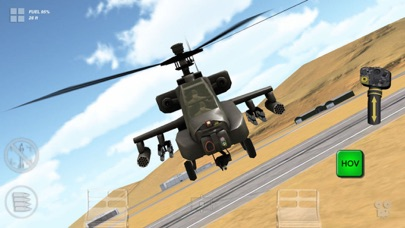 Apache 3D Sim Flight Simulator Screenshots