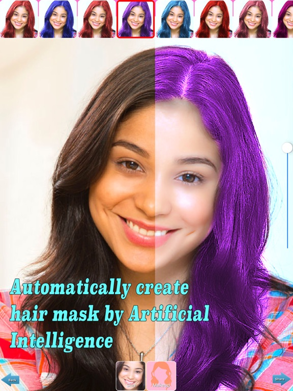 Auto Hair Color Changer App Price Drops
