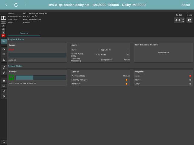 Cinema Server Control on the App Store