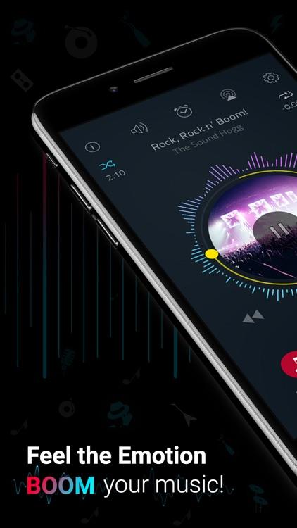 Boom: Music Player & Equalizer screenshot-0