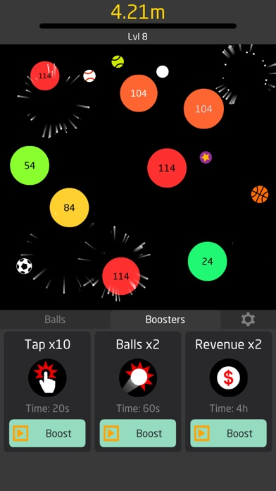 Idle Balls screenshot 2