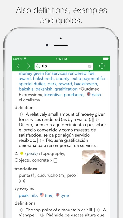 English Spanish Dictionary G review screenshots