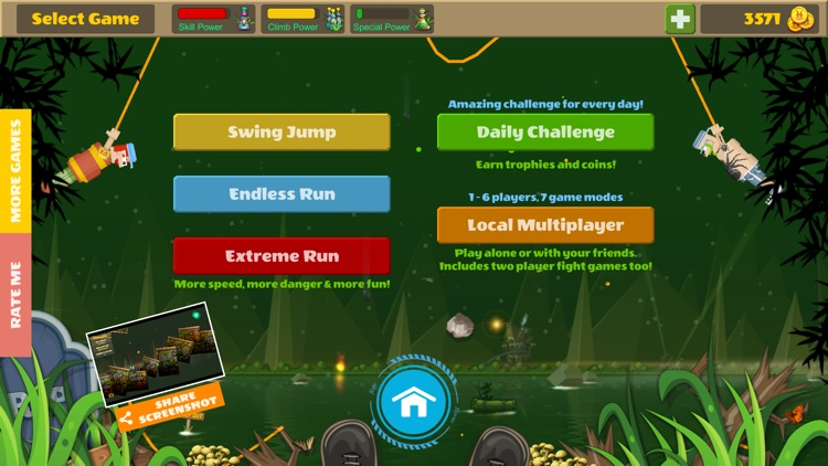 Rope Heroes : Hole Runner Game screenshot-5