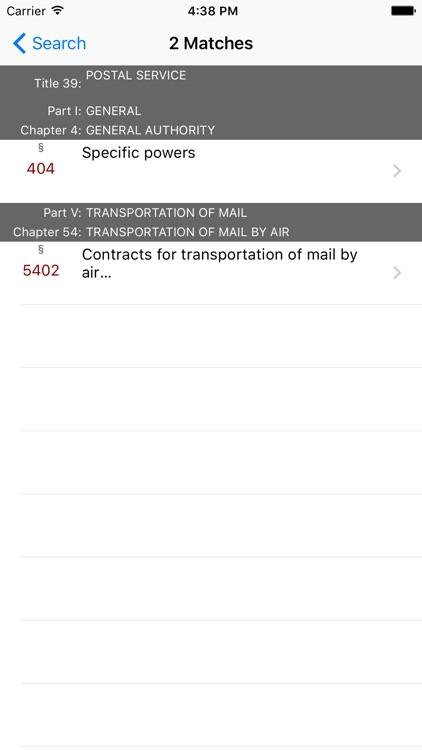 39 USC - Postal Service (LawStack Series) screenshot-4