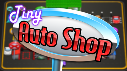Tiny Auto Shop: Car Stop Baron-4
