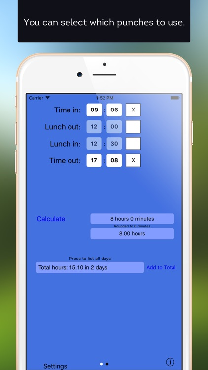 Time Clock Helper screenshot-3