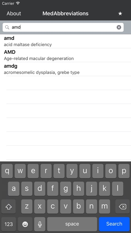 MedAbbreviations screenshot-1