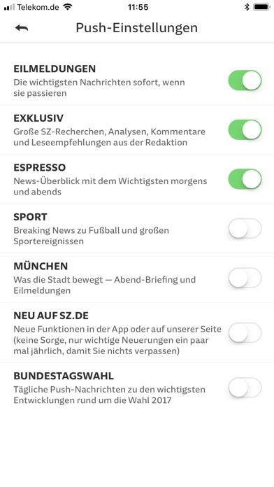 SZ.de Nachrichten SZ Скриншоты9