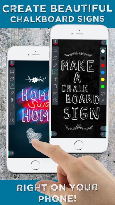 Chalkboard Signs Creator screenshot1