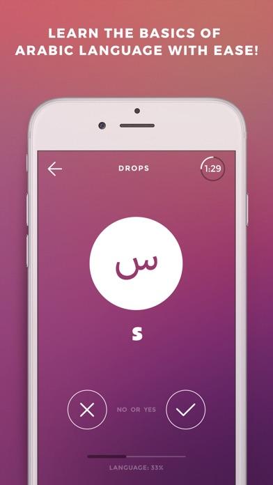 Screenshot #6 for Learn Arabic language - Drops