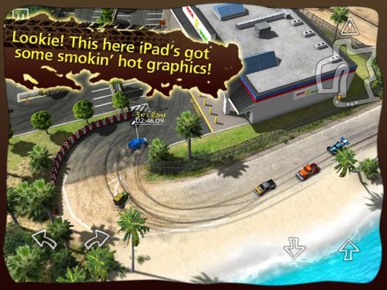 Reckless Racing HD на iPad