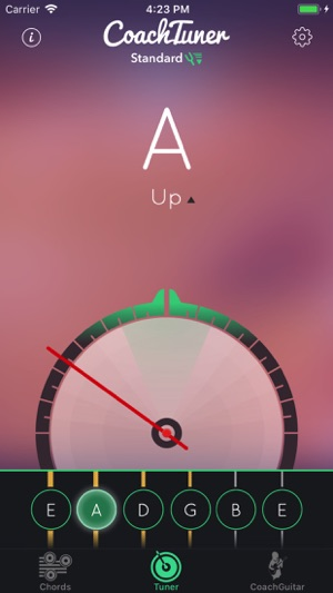 Guitar Tuner Easy Tune Chords On The App Store