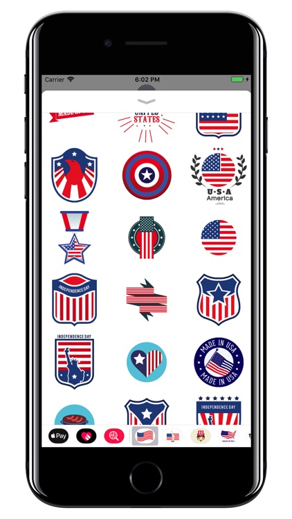 USA - American stickers screenshot-4