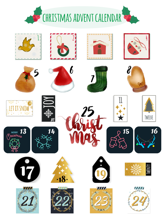 Christmas Advent Calendar Pack screenshot 6