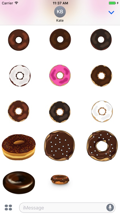 Delicious Donut Stickers screenshot-3