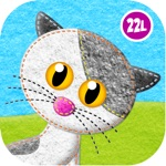 Feed Animals: Toddler games for 1 2 3 4 year olds