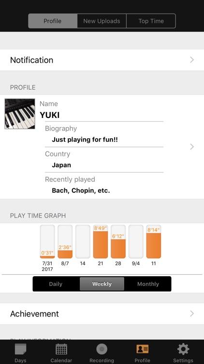Piano Diary - US screenshot-4