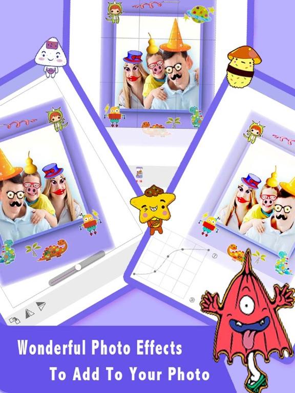 Screenshot #6 pour Autocollants drôles Caméra HD