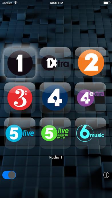 The Radio screenshot one