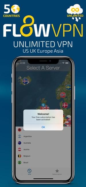 Flow VPN on the App Store