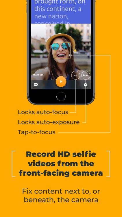 PromptSmart Pro - Teleprompter screenshot-5
