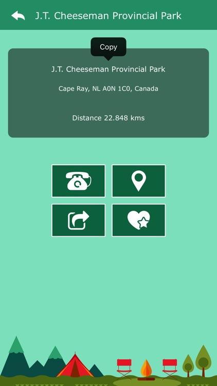 Newfoundland Campgrounds screenshot-4