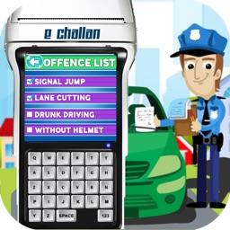 Traffic Police-E-Challan Duty