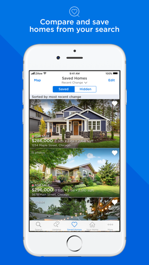 Real estate on zillow for sale on the app store for Best apps for buying a home