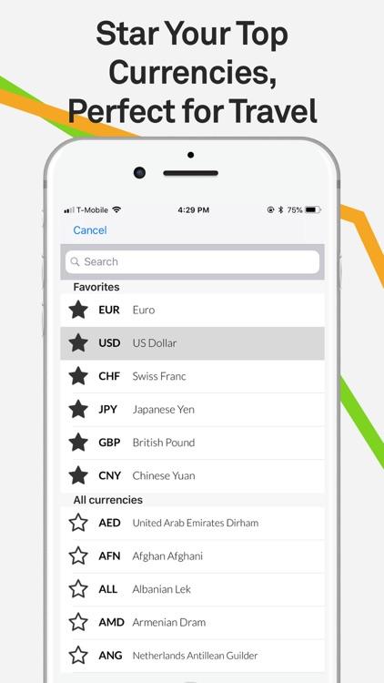 Currency Converter Pro XE $€£¥ screenshot-3