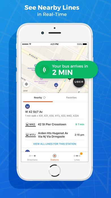 Moovit: Bus, Train & Subway app image