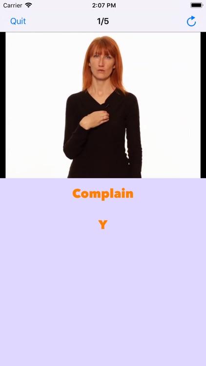 Baby Signing-ASL Intermediate screenshot-4