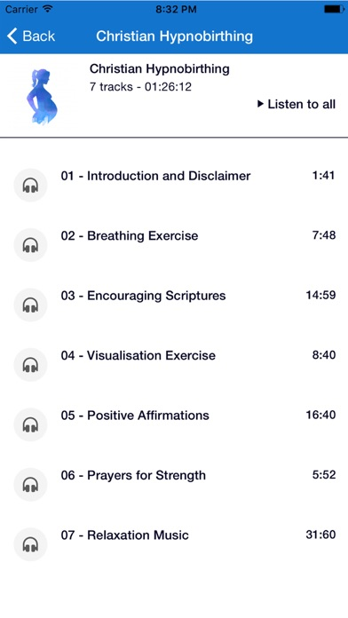 Screenshot for Christian Hypnobirthing in Canada App Store