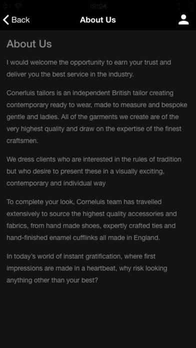 Cornelius Tailors | App Price Drops