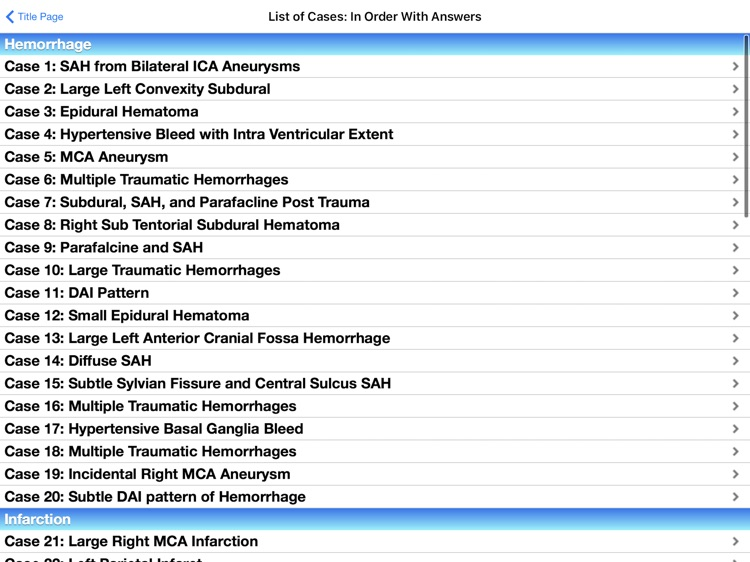 Radiology 2.0: Head CTs screenshot-1