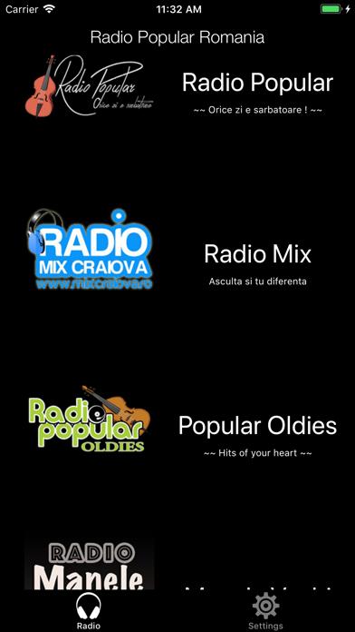 Radio Popular Romania screenshot one