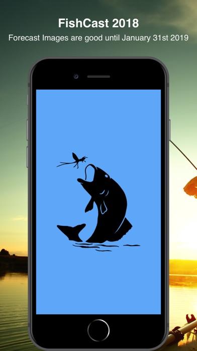 FishCast by DataSport, INC Screenshot