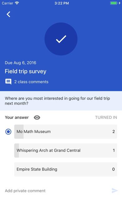 Google Classroom app image