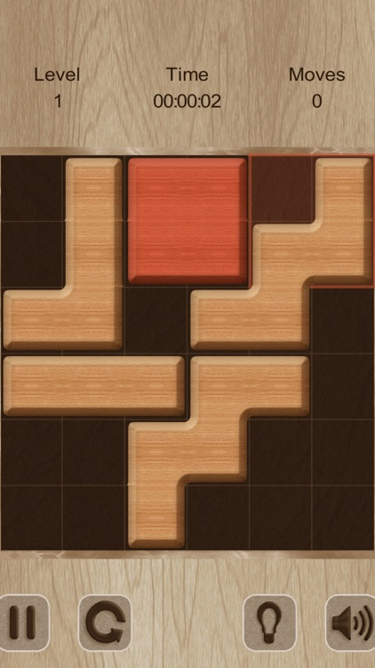 Move The Red Block (ad-free)