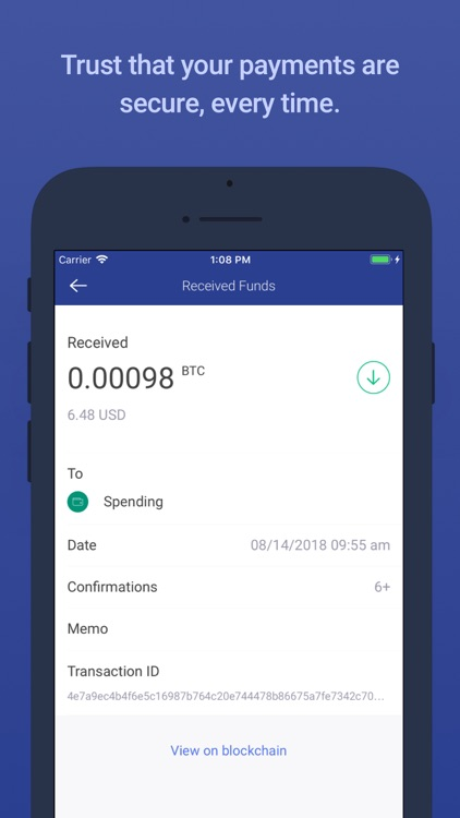 BitPay – Secure Bitcoin Wallet screenshot-4