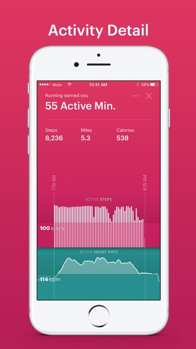 Motiv Ring Fitness Tracker Screenshot
