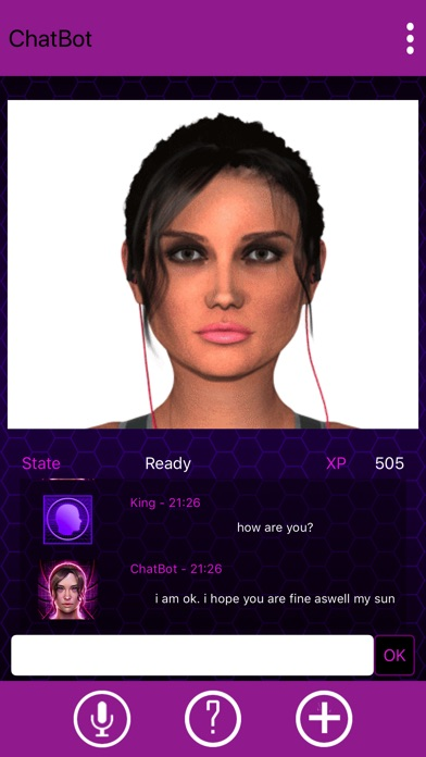 ChatBot My Virtual Girlfriend screenshot 2