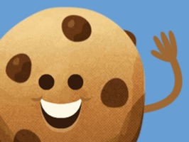 Stickers from Tiff's Treats Cookie Delivery, which are now available in the App Store