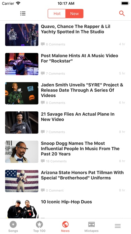 HotNewHipHop screenshot-0