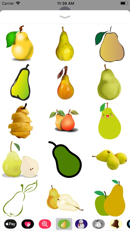 Pear Stickers