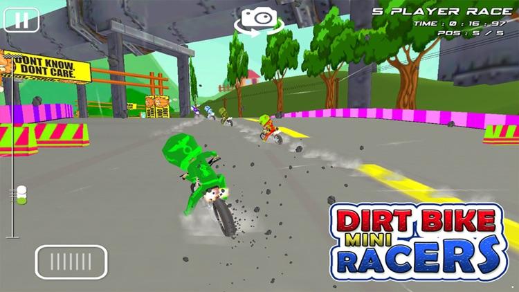 Dirt Bike Mini Racer : 3D Race screenshot-4