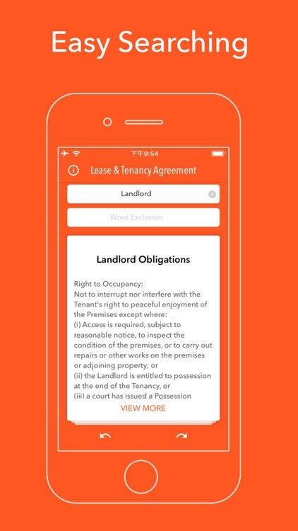 Lease & Tenancy Agreement