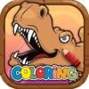 Dino World Dinosaur Coloring